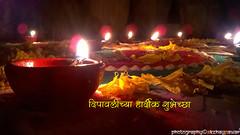 Diwali Diyas (अक्षय पवार) Tags: diwali deepavali diwali2015 deepavali2015 light claylamp rangoli flowerrangoli decoration outdoor happydiwali
