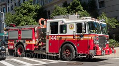"""FDNY """"Fighting Forty Four"""" Engine 44, Upper East Side, New York City (jag9889) Tags: jag9889 usa uppereastside manhattan engine newyorkcity engine44 newyork 20160922 2016 fifthavenue outdoor fdny 5thavenue apparatus bravest firedepartment firedepartmentofthecityofnewyork firetruck firefighter firstresponder ny nyc newyorkcityfiredepartment newyorksbravest pumpertruck truck ues unitedstates unitedstatesofamerica vehicle us"""