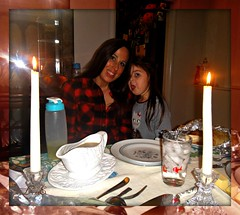 Thanksgiving Table (Lynn English-Thank you) Tags: ribbet beautiful girl wonderful table setting