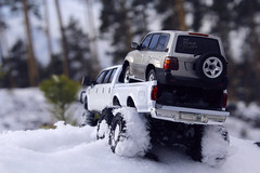 Ford F-350 6 door 6wd 28 (My Scale Passion) Tags: ford f350 meng monogram losi micro mini crawler scale rc modeling custom snow snowrun crawling climbing expedition northpole southpole truck double dual dually duallie 6door 10wd 10x10 125 124 miniz overland landcruiser build