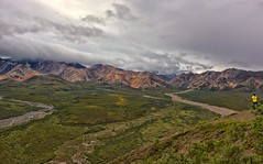 Looking for Denali (Philip Kuntz) Tags: denali denalinationalpark tallestmountainintheworld polychrome polychromemountains alaska