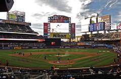 Citi Field - Behind the Plate (Joseph Stroppel) Tags: citi field mets new york baseball photography jumbotron diamond stadium player bank score los angeles dodgers