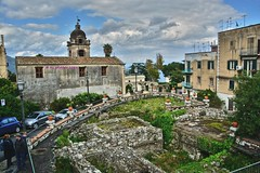 Sizilien - Taormina (kh goldfoto) Tags: italien sicilia taormina 2016 hdr best panoramio1382370129263932 ausgrabungen archologie sizilien altstadt