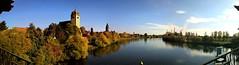 Großauheim, Hanau, Mainufer (holgerHG) Tags: grosauheim hanau mainufer main fluss river panorama