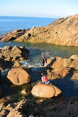 Coasteering in Jersey (Jersey Sea Kayaking) Tags: letacq jersey coasteering