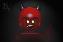 Lucifer (mikechiu86) Tags: lego devil lucifer evil dark minifigures collectible eyes