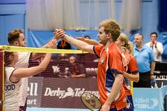 NBLmatch-5100-0529 (University of Derby) Tags: 5100 badminton nbl sportscentre universityofderby match