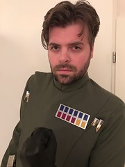 Line Officer project (Saiya-chan) Tags: 501st 501 dutch garrison star wars line officer imperial custome made tailored legion moff rankbar code cylinders