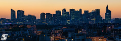 La Défense & Paris 16 (A.G. Photographe) Tags: paris parisien parisian anto antoxiii xiii ag agphotographe ladéfense skyline d810 nikon nikkor 70200vrii bluehour heurebleue