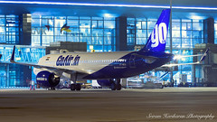 VT-WGA GoAir Airbus A320-271n(WL) (Sri_AT72 (Sriram Hariharan Photography)) Tags: goair airbus a320 a320271n neo vtwga blr kempegowda international airport vobl kia airside photography night aviation photographers india community plane spotting avgeek