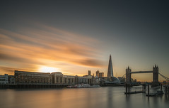 Southbank Sunset (Photo Lab by Ross Farnham) Tags: london thames tower bridge city hall long exposure lee filters sunset shard sony a7rii motion