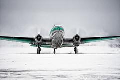 Buffalo Airways Curtiss Commando C-46 C-fAVO (Stephen M. Fochuk) Tags: cfavo buffaloairways icepilots cyzf c46curtisscommando warbird nwt northwestterritories yellowknifeairport
