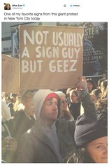 This Guy and His Sign Sum up How Most People Feel About 2016 in General (Chikkenburger) Tags: memebase memes art trolling pranks tricks lies aot internet troll cheezburger chikkenburger