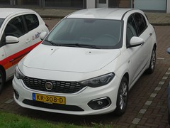 New Fiat Tipo (harry_nl) Tags: netherlands nederland 2016 amsterdam fiat tipo kr308d sidecode9