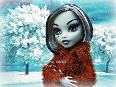 (Linayum) Tags: frankie frankiestein winter snow mh monster monsterhigh doll dolls mueca muecas toys juguetes gloombeach linayum