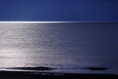 Belles vibrations de la mer... (jlvaizand) Tags: mditerranne mer bleu lumire vibration nikon palavas hrault
