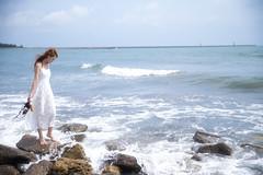 1DX_1051 (Chris Photography(王權)(FB:王權)) Tags: 1dx 2470lii ocean g girl