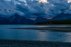 Sunset over Jackson Lake (FJMaiers) Tags: jackson lake grand teton national park