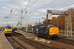 Norwich (Treflyn) Tags: drs class 374 37422 norwich station great yarmouth shortset 37405