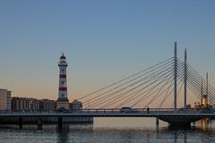 Lighthouse (Infomastern) Tags: malmö malmöinrefyr bridge bro fyr lighthouse