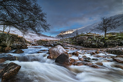 Dynamic (Images by William Dore) Tags: scotland visitscotland cold winter ice snow landscape outdoors outside highlands freezing frost nikon d810 nikond810 trees water rocks waterfall mountains hills highland