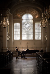 Solo in the Chapel (Catherine#Page) Tags: violin london concert music stmartinsinthefields performer