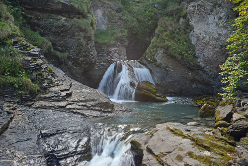 Reichenbach Falls near Meiringen, Switzerland