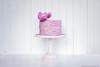 Ruffle Cake (KiwiMiriam) Tags: cake pink fuji xe2 23mm mirrorless chocolate celebration fondant gumpaste flower tornpaper ruffles