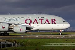 CDG - Airbus A380-861 (A7-APA) Qatar Airways (Aéro'Passion) Tags: cdg airbus a380861 a7apa qatar airways lfpg photography photos paris parisroissycharlesdegaulle passage parking 60d canon aéropassion airport aircraft airlines aéroport roulage a380 natw
