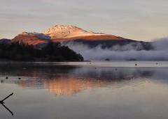 Misty Luss (Anne Young2014) Tags: visitscotland scotland scotspirit beauty mist winter lochlomondnationalpark trossachsandlochlomond trossachs clouds misty loch lochlomond luss