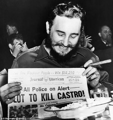 #Fidel Castro laughing about a newspapers report on U.S. attempts to kill him. ca 1960s. [634 × 674] #history #retro #vintage #dh #HistoryPorn http://ift.tt/2ggCrQO (Histolines) Tags: histolines history timeline retro vinatage fidel castro laughing about newspapers report us attempts kill him ca 1960s 634 × 674 vintage dh historyporn httpifttt2ggcrqo