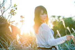 DSC_1846 (Robin Huang 35) Tags: 孫卉彤 candy 陽明山 芒草 秋芒 大屯山 大屯自然公園 lady girl d810 nikon