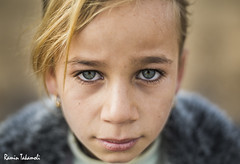 Judgement (ramintakamoli) Tags: war children kids refuges isis iraq fight kurdistan yazidi people portrait yizadi outdoor clothes rain day refugees