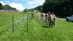 5 (6 SCOTS Reserve) Tags: british army royal regiment scotland assualt pioneer motherwell soldiers mine water rafting barbed wire reserve training