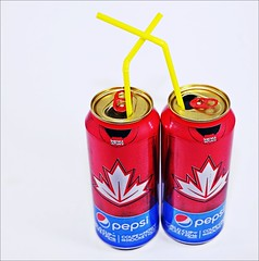 The Flickr Lounge: Red, Yellow (Sue90ca Falling Behind. More Off Than On Lately) Tags: theflickrloungeweeklytheme red yellow cans straws