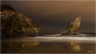 El Picón nocturno. Asturias
