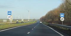 N305 Zeewolde-2 (European Roads) Tags: n302 n305 zeewolde harderwijk flevoland 2x2 autoweg nl netherlands