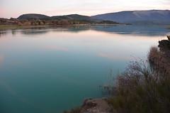 La paix du soir, 05 (RarOiseau) Tags: lac lacduriou saintgenis hautesalpes reflet calme couchant crpuscule paysage eau