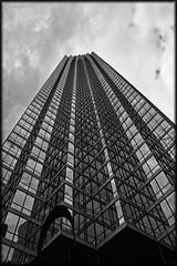 Dallas (Problemkind) Tags: sky blackandwhite bw usa glass clouds dallas steel himmel wolken relection amerika schwarzweiss glas skyscaper reflektion hochhaus stahl