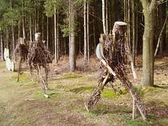 March of the Stick Men - 2010, March (DizDiz) Tags: uk england sculpture staffordshire cannockchase olympusc720uz