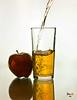apple juice (dandooon2010) Tags: apple juice sony alpha تفاح a55 عصير سوني الفا