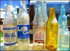 Flea Market Bottles -- Wikiup, Oregon (greenthumb_38) Tags: junk flea yardsale fleamarket garagesale swapmeet g11 pickers picker junkstore wikiup jeffreybass canonpowershotg11 canong11