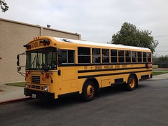 OMSD 117 (crown426) Tags: california bluebird schoolbus montclair tc2000 tcfe adabus liftequipped ontariomontclairschooldistrict