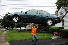 One Strong Kid (Joshua Siniscal Photography) Tags: car photo lift photoshopped gimp josh tricks excellent edit siniscal