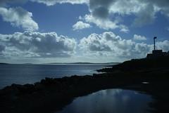 Mossbank (Tash Scott) Tags: sun beach water island shetland mossbank
