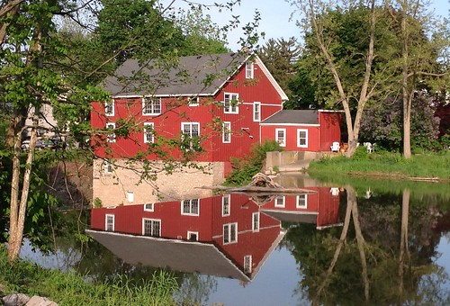 Honeoye Falls reflections