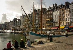 Honfleur-  harbour (margatt2012) Tags: france sailboat port harbor harbour medieval honfleur normandy