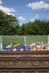 HA & CF (wallsdontlie) Tags: graffiti cologne kln ha cf