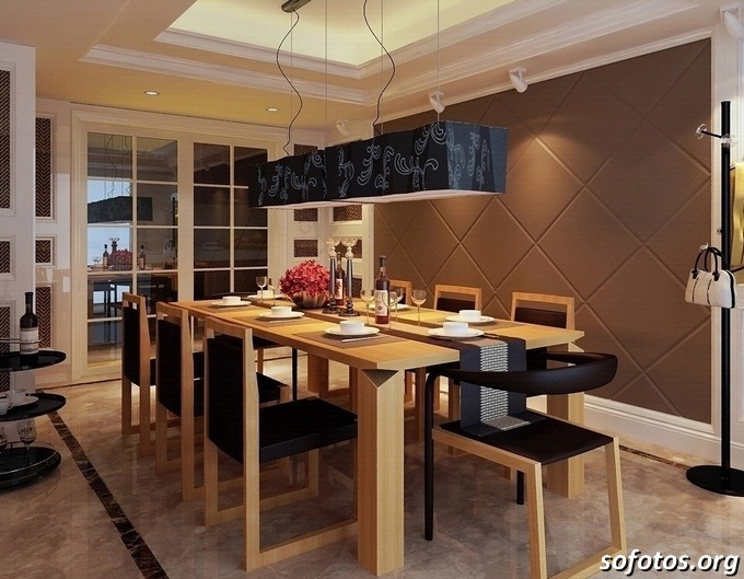 Salas de jantar decoradas (80)