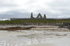 261-20130511_Faraid Head walk-Sutherland-Balnakeil Church viewed from beach of Balnakeil Bay (Nick Kaye) Tags: church landscape coast scotland highlands sutherland